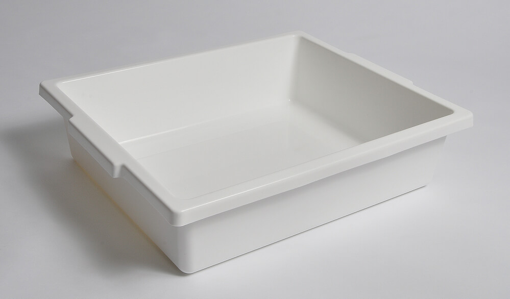 United Scientific Supplies Inc  Laboratory Tray, Large , (PP), 20